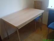 Стол кухонный итальянский б/у(раздвижной)