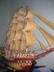 Продам  сувенирный парусник 150 см длина