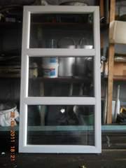 пластиковое окно  б/у одинарное остекление