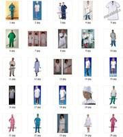 Медицинские костюмы, Одежда для медперсонала , медработников