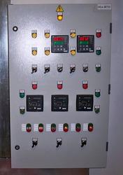 Сборка щитов управления,  монтаж и настройка контроллеров.