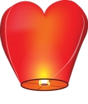 Небесный фонарик желаний!