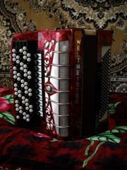 Кнопочный аккордеон «Weltmeister»  (Grandina)
