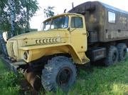 Урал-4320 конверсия ,  АИС и шасси