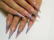 Эксклюзивное наращивание ногтей!!!!!