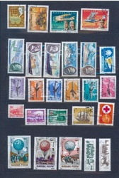 Наборы почтовых марок на разные темы
