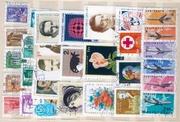Подарю коллекцию марок