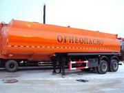 Полуприцеп –цистерна бензовозная «CIMC» 30м3