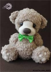 Стильный медвежата и игрушки ручной работы
