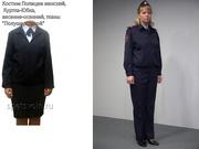 костюм куртка летняя мвд полиции женская пошив под заказ индивидуально