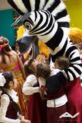 Проведем массовый детский праздник с выездом команды артистов в населе