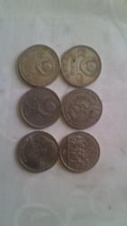 1 рубль: 1984, 1970, 1986, 1987, 1965, 1975