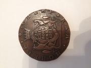 Сибирская монета Екатерины 2