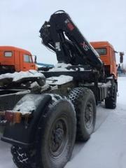 Седельный тягач с КМУ,  полуприцеп. г. Ноябрьск