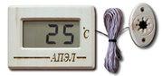 Термометр для бань и саун из липы с выносным датчиком темп. ТЭС Pt